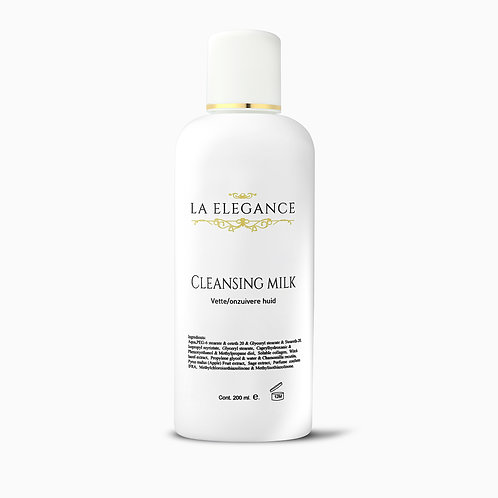 La Elegance Magic Cleansing Milk Droge-vochtarme huid