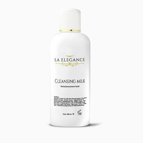 La Elegance Cleansing Milk Vette/onzuivere huid