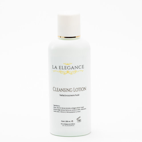 La Elegance Cleansing Lotion vette/onzuivere huid