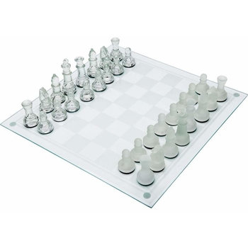 33 Piece Glass Chess Set