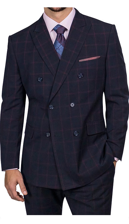 2pc Double Breasted Suit