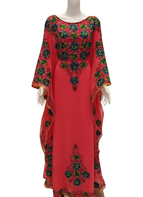 Traditional Embroidery Kaftan