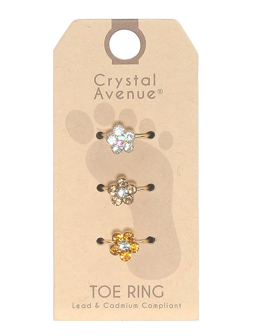 3 PC TOE RING