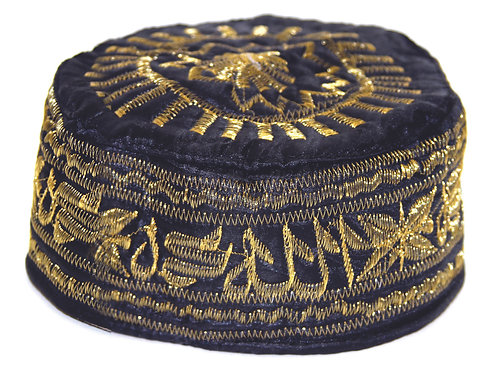 BLACK & GOLDEN CAP