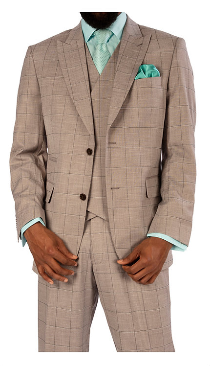 3 pc Vested Suit