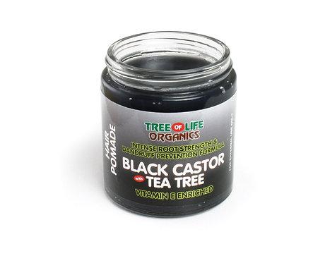 Black Castor & Tea Tree Hair Pomade