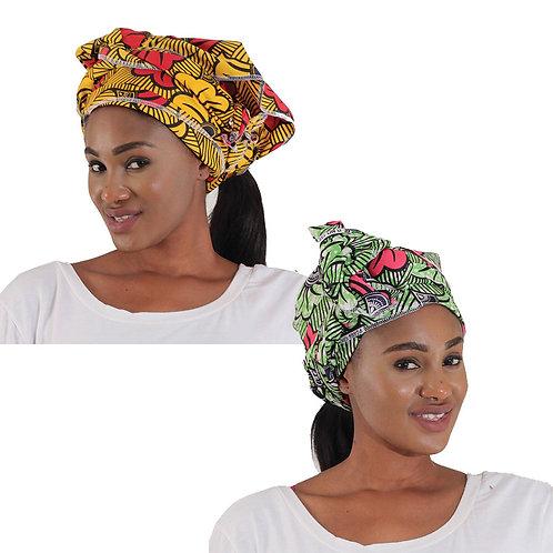 African Headwrap: Fan