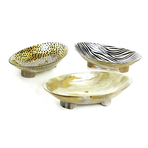 African Bone Soap Tray