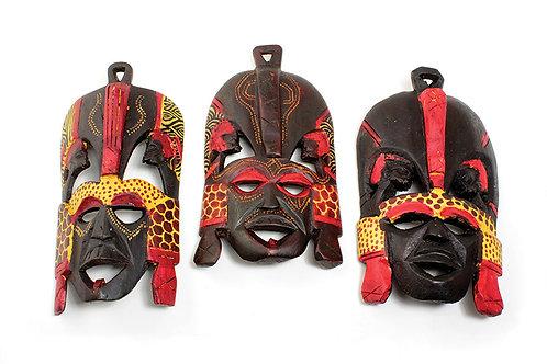 "9-10"" Maasai Mask"