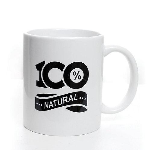 100% Natural Coffee Mug