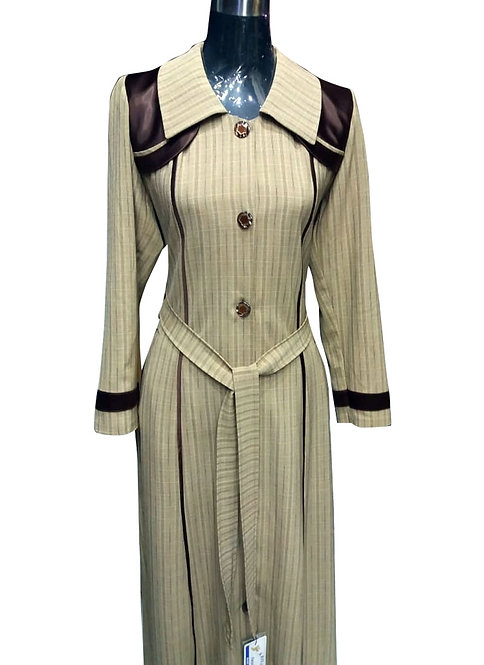 Anoosh Stylish Coat Abaya