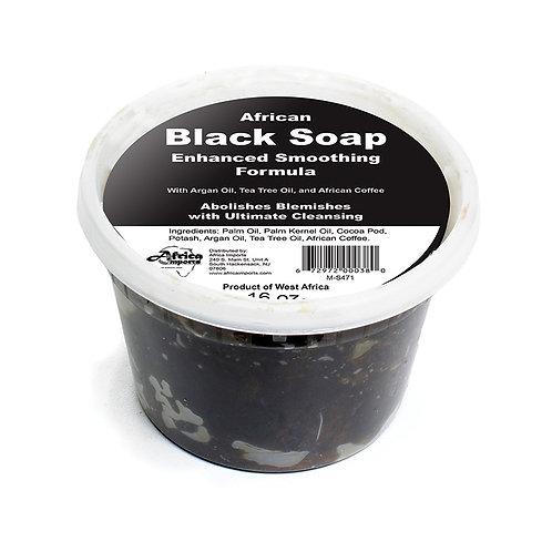 Black Soap Smoothing Formula – 16 oz.