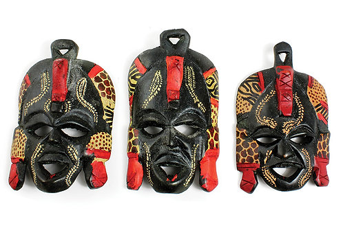 "5-6"" Maasai Mask"