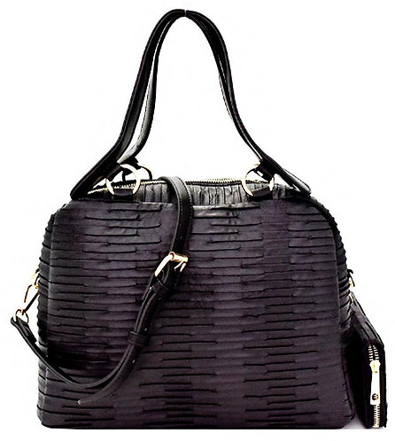 Black Women's Handbag Wallet Set