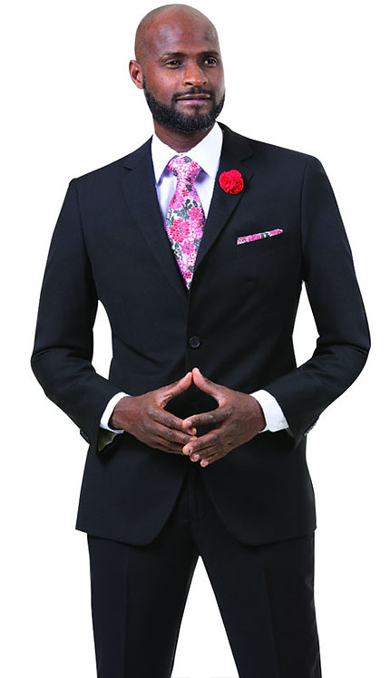 2pc Mens Two Button Fashion Suit