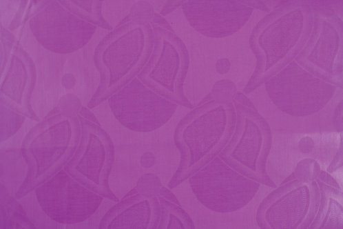 African Brocade Fabric 30 Yards: Purple