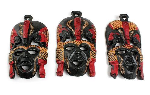 "7-8"" Maasai Mask"