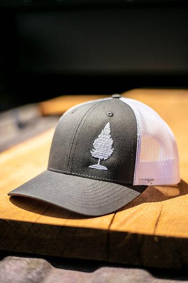 Mesh Snapback Tree Hat
