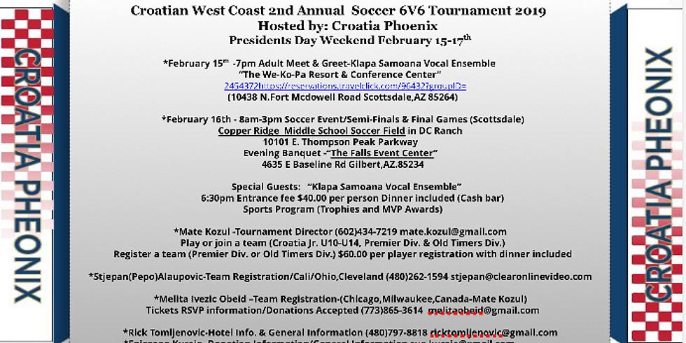 Croatian West Coast 2nd Annual Soccer Tournament