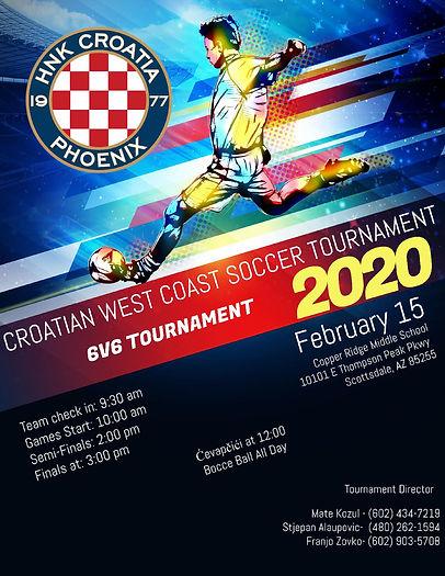 Futsal Football Tournament Flyer