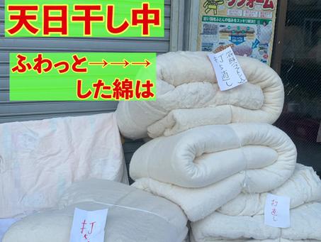 ふんわり綿としっかり綿