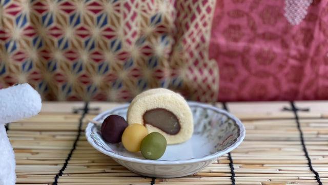 愛媛のお菓子(タルトと団子)