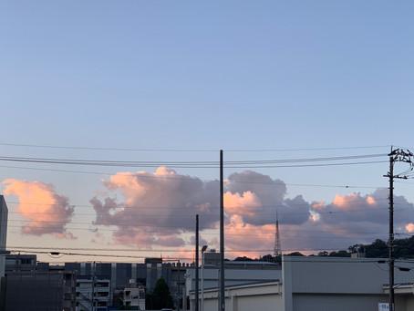 幻想的な雲でした(^^♪