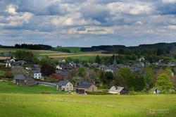 village au coeur de la campagne