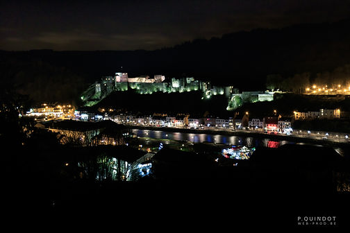 château fort de bouillon de nuit