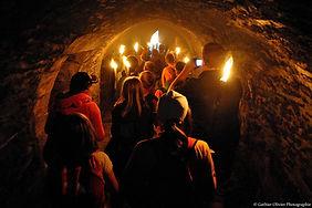 Visite nocturne château fort de bouillon
