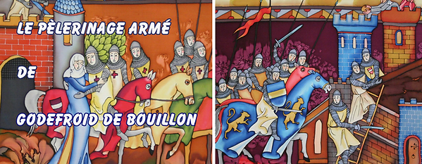 fresque pelerinage godfroid exposition bouillon