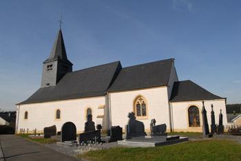 sensenruth église blanche et grise