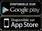 logos google play et app stoe
