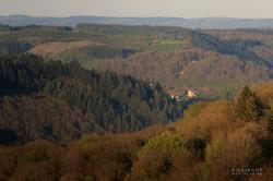 vue du village corbion en automne