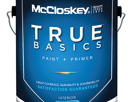 Now Stocking McCloskey Interior Paint!