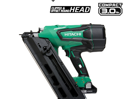 NEW! Hitachi cordless nailers in stock!