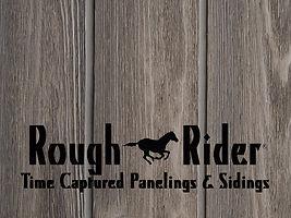 Rough Rider siding