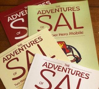 (4 book bundle)The Adventures of Sal