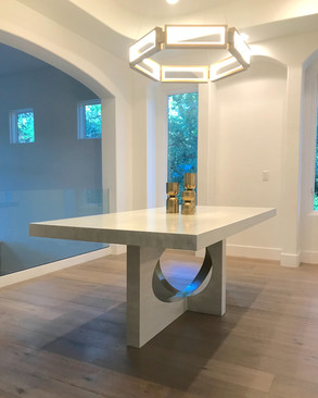 Modern Ellipse Table