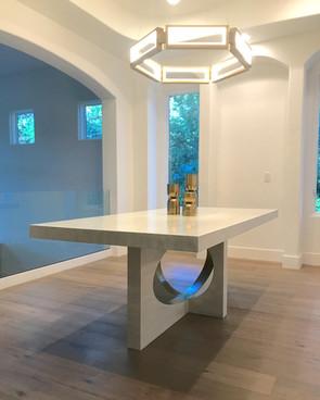 Modern Ellipse Table