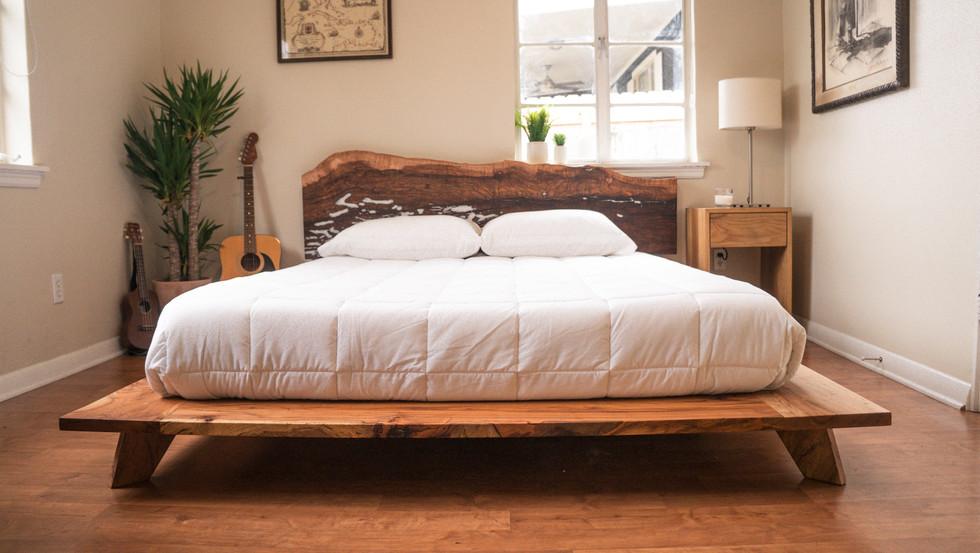Pecan Bed Frame