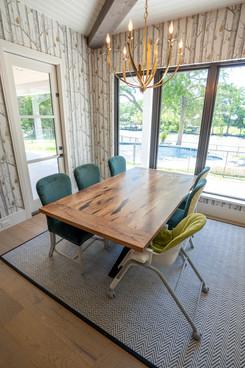 Custom Mesquite Table