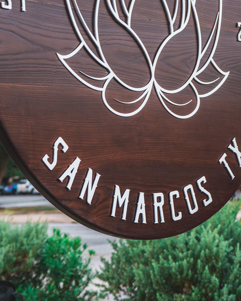 Custom Signage Central Texas