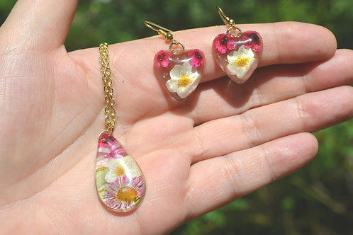 Necklace and earrings#66
