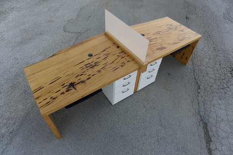 Cypress Slab Desk