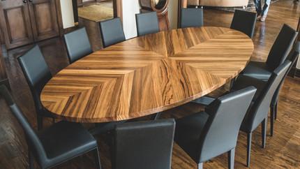 Zebra Wood Table