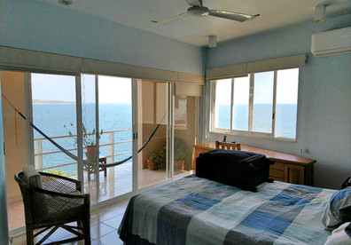 Master bedroom with amazing view and your own private balcony
