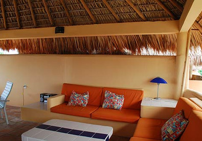 Palapa living with amazing ocean breezes