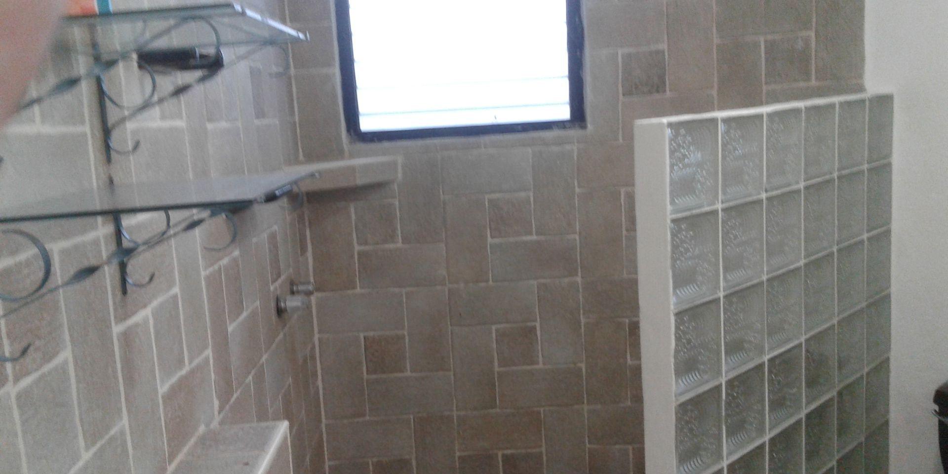 Walk in showers in both bathrooms