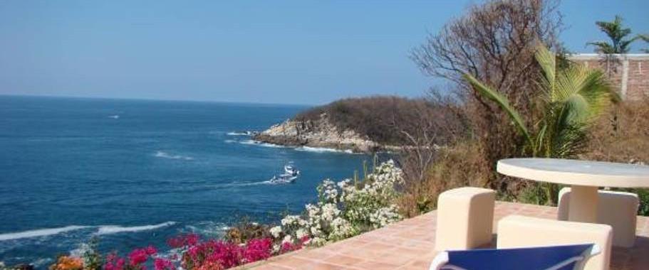 View from Villa Manzanillo Reef